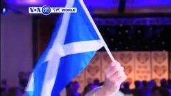 VOA60 Duniya: Scotland Sun Zabi su Zauna a Karkashin Birtaniya, Satumba 19, 2014