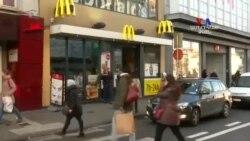 SHORT VIDEO: Մաքդոնալդսի հաճախորդները հյուրասիրել են միմյանց