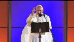 教宗在里約熱內盧參加世界青年節慶祝活動