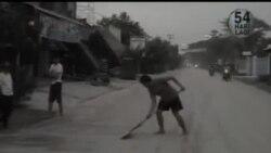 2014-02-14 美國之音視頻新聞: 印尼克盧德火山爆發兩人死亡