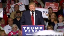 Trump in Geneva, Ohio: 'We Are Going to Drain the Swamp' in DC