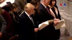 Trump'ın İlk Günü: Önce Dini Tören Sonra CIA Ziyareti