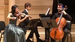 ՀԲԸՄ-ի կրթաթոշակով ուսում ստացած հայ երիտասարդ երաժիշտների համերգը Նյու Յորքում
