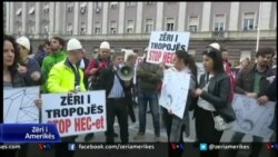 Protestë në Tiranë
