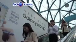 VOA60 DUNIYA: SOUTH KOREA Kamfanin Samsung Ya Dakatar Da Kera Tare Da Sayar Da Wayar Galaxy 7