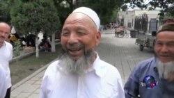 中国新疆反恐殃及胡须和面纱