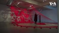 У Каліфорнії проходить виставка українсько-американської художниці Валентини Роєнко. Відео