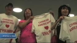 Trump'ı Destekleyen Çinli Amerikalı Sayısı Artıyor