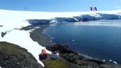 En Antártida, en busca de protección solar