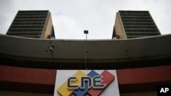 La sede del Consejo Nacional Electoral en Caracas, Venezuela, el lunes 15 de junio de 2020.