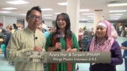 Iftar dan Taraweh Warga Muslim Indonesia di Washington DC (2)