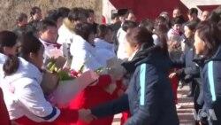 韩朝联合组建女子冰球队参加平昌冬奥会