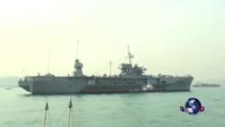 美海军第七舰队再访港