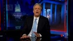 2015-02-11 美國之音視頻新聞: 斯圖爾特宣佈離開The Daily Show