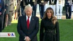 Trump Beşdarî Merasîma Bîranîna 11'ê Îlonê Bû