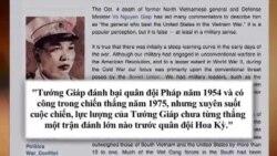 Tranh cãi về di sản của Đại tướng Võ Nguyên Giáp