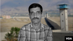 Undated image of Iranian dissident Saeed Masouri, jailed in Iran since Jan. 8, 2001, for supporting exiled opposition group MEK. (VOA Persian)