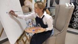 Американська мрія: від няні до власниці галереї – історія успіху української художниці. Відео