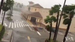 Fòs Van Siklòn Irma a Kap Krake nan Miami