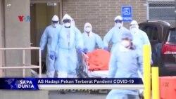 Sapa Dunia VOA: AS Hadapi Pekan Terberat Pandemi COVID-19