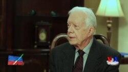 Xotin-qizlarni xo'rlash jamiyatni xo'rlashdir, deydi Jimmi Karter/Carter-Women