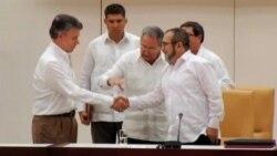 EE.UU. felicita a Colombia por acuerdo de paz