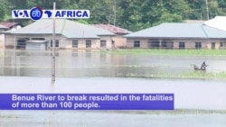 VOA60 Africa - Nigeria's Disasters Agency Says 100 People Killed in Floods