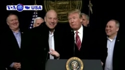 VOA60 America - President Trump's top economic adviser Gary Cohn is resigning