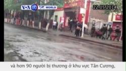 TQ: 31 người chết trong vụ tấn công khủng bố ở Tân Cương (VOA60)