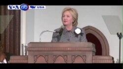 Bộ trưởng Lao động Mỹ công khai ủng hộ bà Clinton (VOA60)