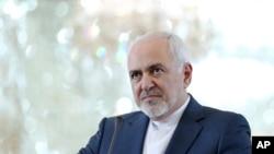 Le ministre iranien des Affaires étrangères, Mohammad Javad Zarif, à Téhéran, en Iran, le lundi 10 juin 2019.