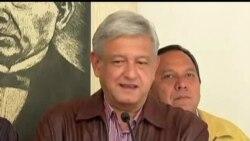 2012-07-08 美國之音視頻新聞: 數萬名墨西哥人抗議總統選舉舞弊