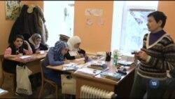 Діти Сирії: біженці шукають тимчасовий притулок у Росії. Відео