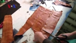 Fish Skin Leather Popular in Russia's Ingushetia Republic
