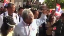 泰国反政府抗议持续进行