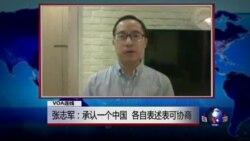 VOA连线: 张志军:承认一个中国,各表可谈