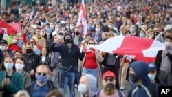 В Білорусі тривають акції протесту, фото 4 жовтня 2020 року