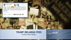 Satu Tahun Trump: Konflik dengan Media