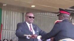 Prezida Peter Mutharika wa Malawi Yarahiririye Indi Manda