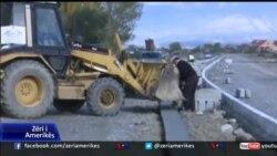 Protesta kundër projektit të bypassit në Shkodër