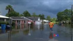 受洪水侵襲的路易斯安那州進行災後重建
