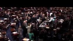 2014-01-14 美國之音視頻新聞: 國會參院繼續辯論失業補助