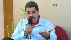 Venezuela: Maduro reta a la oposición