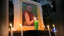 印度流亡藏人为四川自焚藏人举行祈福法会