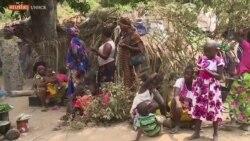 Des milliers de réfugiés centrafricains vivent dans des abris de fortune