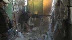 هزاران آواره فلسطینی در میانه نبرد داعش و دولت سوریه گیر افتادند