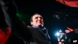 Lider pokreta Samoopredeljenje Aljbin Kurti (Foto: AP)