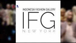 Indonesia Fashion Gallery (IFG) di New York