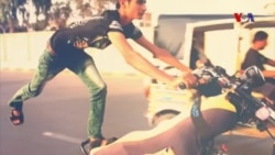 کراچی: خطروں کا کھیل، منفرد موٹر سائیکل ریس