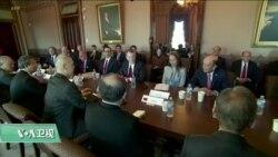 VOA连线(黄耀毅):美中贸易谈判在白宫行政大楼展开